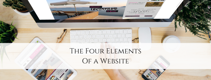 The Four Elements of a Website
