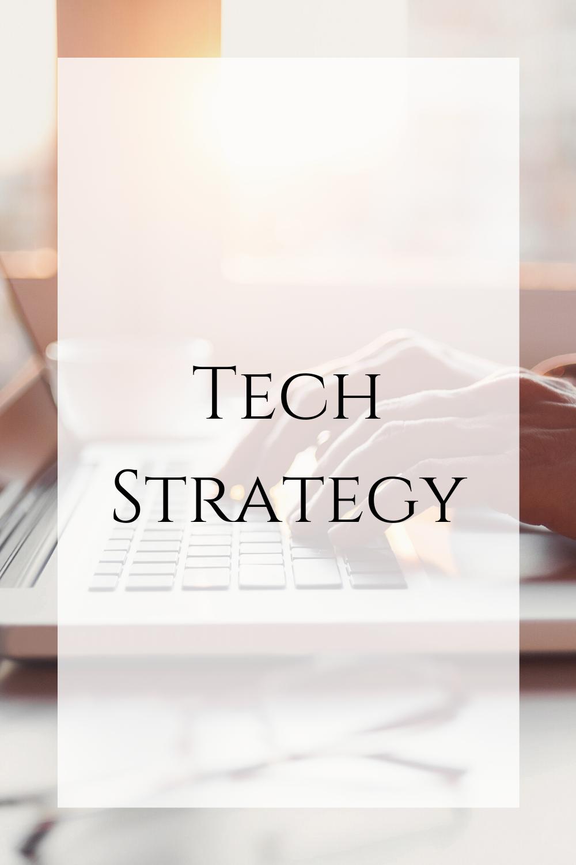 Tech Strategy