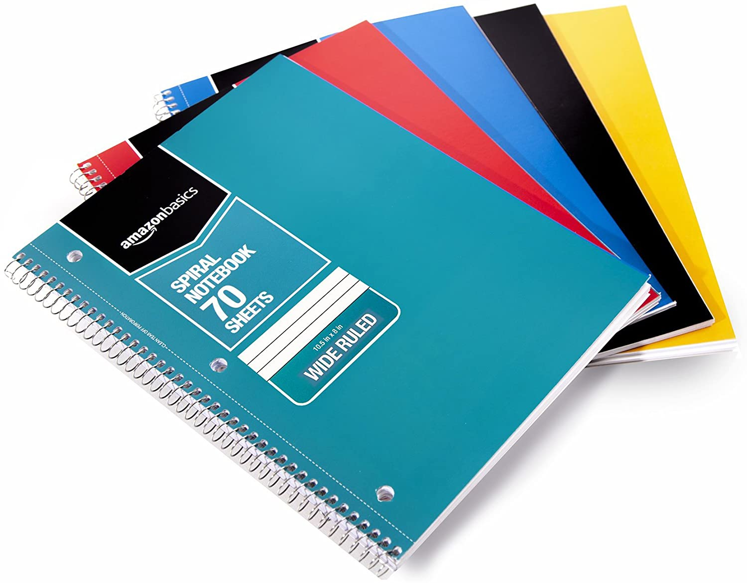 spiral bound notebooks to organize your office