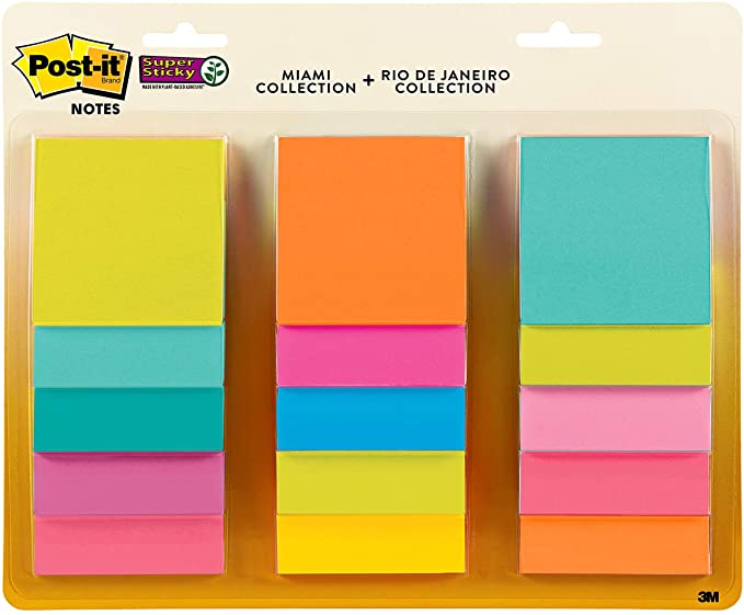 Post it notes to organize your office