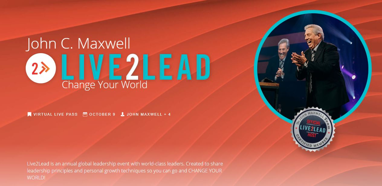 Live2Lead with John Maxwell